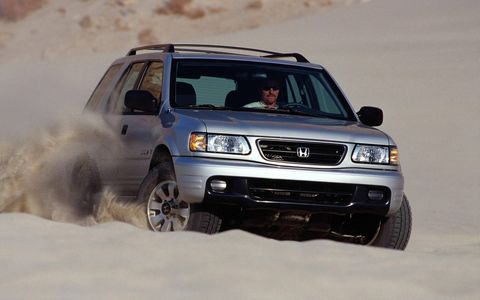 2002 was the last year for the Honda Passport.