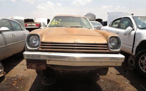 This one is a rust-free Arizona car, but wasn't considered worth buying by anyone at its final auction.