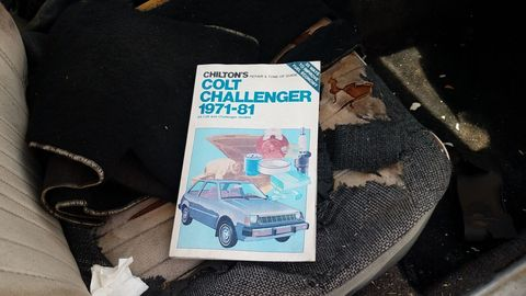 1978 Dodge Colt in Denver wrecking yard