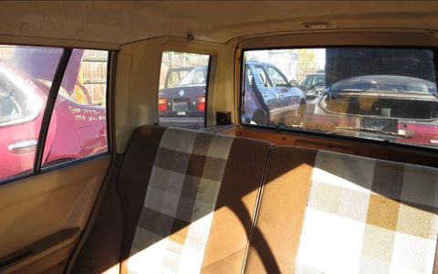 These cars had impressive interior space for their small external dimensions.