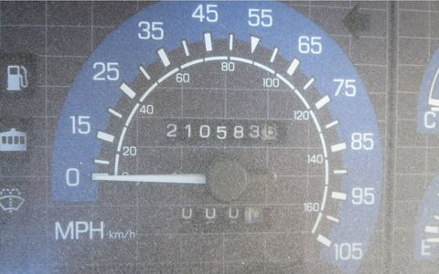 More than 200k on the clock, but the interior is still in great shape. This van was loved.