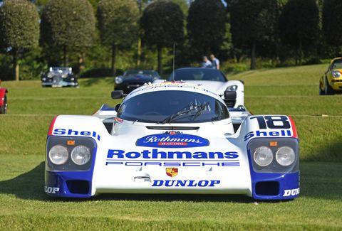 Class-winning Porsche 962 in proper Rothman's Livery