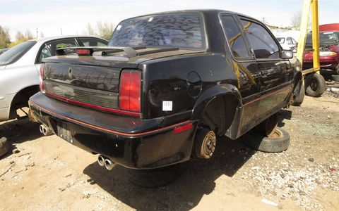 Actually a fairly mean-looking car, for a 1980s Oldsmobile.
