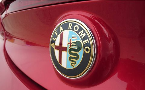 Alfa Romeos have always been cool. The snake-eating-man logo is very cool.