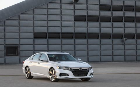 The 10th-generation Honda Accord made its debut in Detroit on July 14 with a 1.5-liter turbocharged four making 192 hp and 192 lb-ft of torque or a 2.0-liter turbo four producing 252 hp and 273 lb-ft of torque.