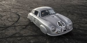The details on the car are exactly as they were at Le Mans in 1951.