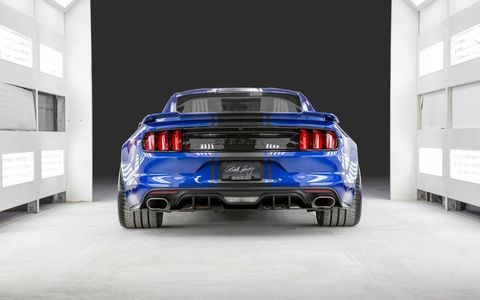 Shelby American unveiled two new vehicles that will be shown to the public this Saturday at the 5th Annual Carroll Shelby Tribute and Car Show in Gardena, Calif. The Mustang concept has 750 hp and is optimized for road racing.