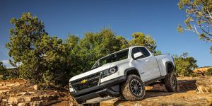 The off-road-ready Chevrolet Colorado ZR2 can launch off big jumps and land like a 747 on a pillow, but is also a capable rock crawler and even a comfortable daily driver, thanks to DSSV shocks from Multimatic.