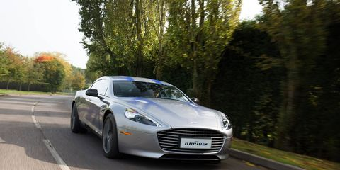 Goals for the RapidE are lofty, with a target range of 250 miles and a top speed of 155 mph. Incidentally, that number, 155, is how many of this limited first run will be made.