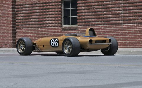 Englishman Ken Wallis approached Carroll Shelby to build a turbine powered car for the 1968 Indy 500.
