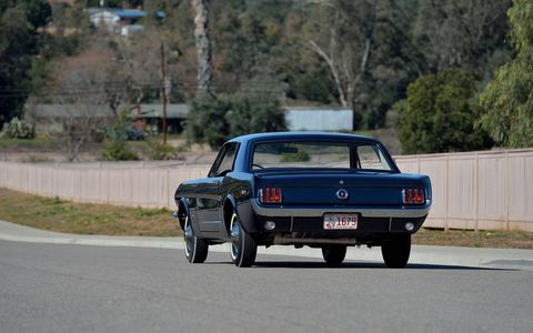 The first Ford Mustang coupe to get a VIN is heading to auction in Indianapolis.