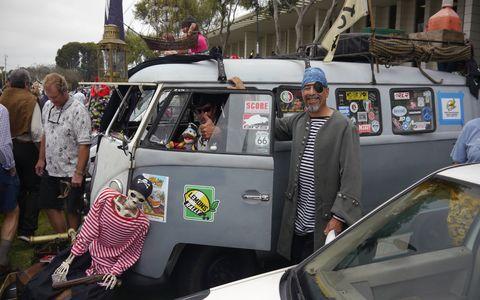 Pirates in a VW van. Arggggh.