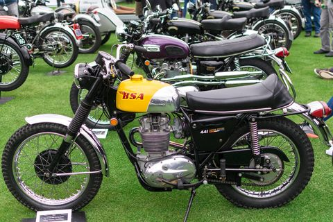Here are some of last year's Quail motorcycles to give you an idea of the kind of bikes you will see this year.