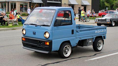 Honda Acty.