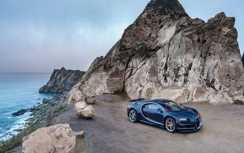 Check out the Bugatti Chiron strutting its stuff in Monterey at The Quail: A Motorsports Gathering.