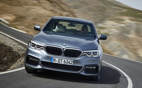 The BMW 5 Series will come in 530i and 540i forms when it's initially released.