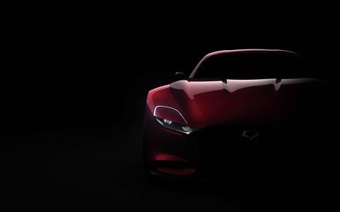 The Mazda RX Vision debuted at the Tokyo show with the new SkyActiv-R rotary engine concept.
