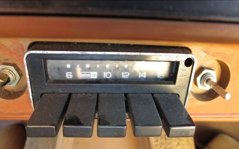In 1980, this Delco AM radio came standard in the Chevette.