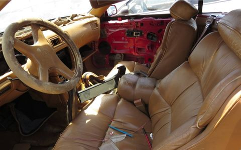 Look at all that (non-Corinthian) Maserati leather!