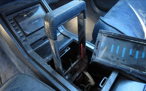 """This """"horseshoe"""" automatic console shifter design went back to GM cars of the 1960s."""