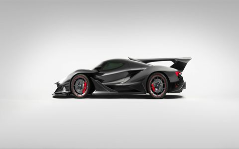 The Apollo Intensa Emozione -- or Apollo IE for short -- is a clean-sheet hypercar design from the company formerly known as Gumpert. Built on a carbon fiber chassis cradling a 6.3-liter naturally aspirated V12, the IE claims to offer a traditional high-performance experience despite its bizarre futuristic looks.