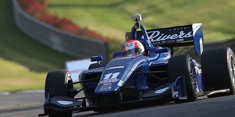 Ed Jones and Dean Stoneman both won an Indy Lights race this weekend at Indianapolis Motor Speedway.