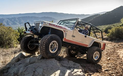 You met the team at Legacy Classic Trucks of Jackson Hole, Wyoming when we showed you their Power Wagon last year. Now they're offering recreated Jeep Scramblers so thoroughly rebuilt that they cost over a hundred grand. So they're not for everybody. But the few who will own them will not be disappointed.