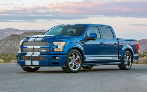 Shelby American unveiled two new vehicles that will be shown to the public this Saturday at the 5th Annual Carroll Shelby Tribute and Car Show in Gardena, Calif. The truck is on sale now and comes with either 395 or 750 hp.