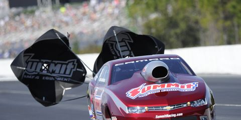 Greg Anderson can't wait to race in the Four-Wide Nationals at zMax Speedway after missing last year's event.