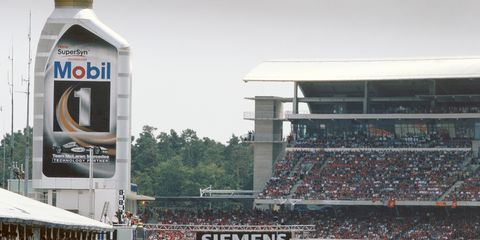 Hockenheim, shown in 2004, was off the Formula One schedule in 2015. Bernie Ecclestone is trying to put pressure on the track to make updates in order to get back on the calendar.