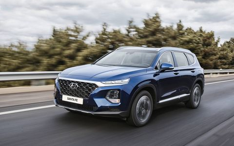 Hyundai debuted the new Santa Fe in South Korea this week.