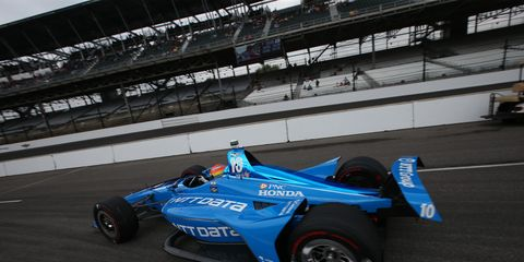 Sights from IndyCar Series Indy 500 qualifying at Indianapolis Motor Speedway, Saturday May 19, 2018