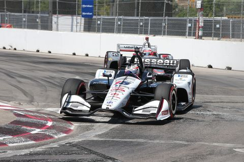 Sight from the IndyCar Series at Toronto, Sunday July 15, 2018.