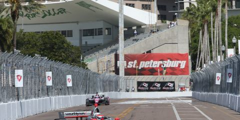 Sights from the NTT IndyCar Series action in St. Petersburg Saturday March 9, 2019.