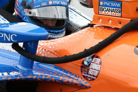 Sights from the IndyCar Series action at Gateway Motorsports Park Friday August 24,2018.