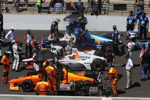 Sights from the IndyCar Series 102nd Indy 500 at Indianapolis Motor Speedway, Sunday May 27, 2018