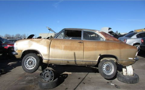 Here's a serious junkyard rarity, at least in North America.
