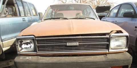 Once a very common sight on American roads, but most of these cars rusted to nothingness decades ago.