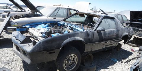 Even with its miserable powertrain, this car avoided The Crusher for more than 30 years.