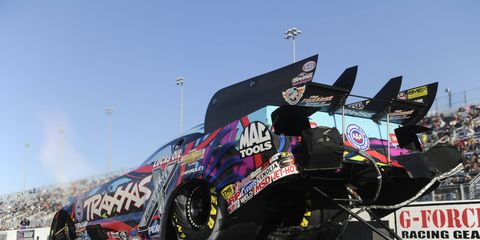 Courtney Force is trying to qualify for the NHRA Countdown to the Championship for a fourth consecutive season.