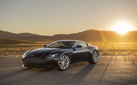 Aston Martin lopped the front four cylinders off its DB11, dropped the curb weight by 243 pounds, shifted the balance rearward and turned a gran touring car into something closer to a sports car.