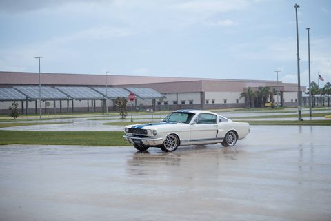 Revology's GT350 makes 435 hp and 400 lb-ft from Ford's last version of the Coyote.