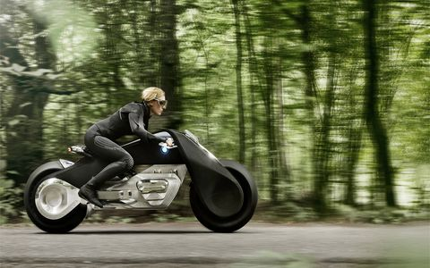 To celebrate its first 100 years and speculate about its next 100, BMW revealed its fourth and final Vision Vehicle, the BMW Motorrad VISION NEXT 100. It certainly looks much cooler than the first three Visions.