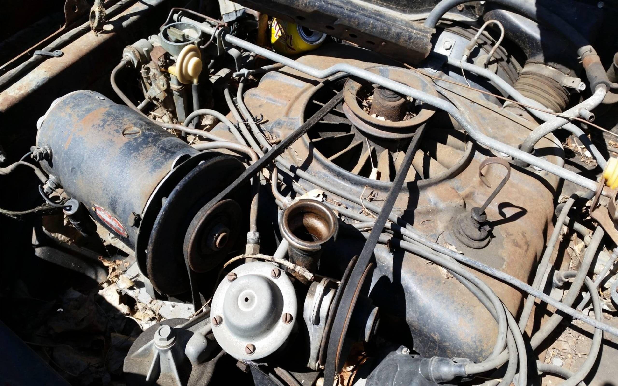 Junkyard Treasure: 1964 Chevrolet Corvair Monza Sedan | 1965 Corvair Engine Diagram |  | Autoweek