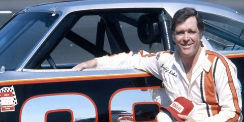 Buddy Baker, NASCAR driver-turned-commentator, died Sunday after a battle with lung cancer.