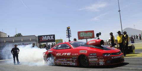 Erica Enders-Stevens pocketed $50,000 with her win in Las Vegas on Saturday.