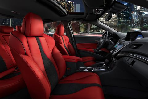 The refreshed 2019 Acura ILX gets a sharper interior and extra driver tech.