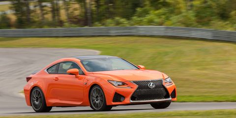 Our test 2015 Lexus RC F was equipped with the optional Carbon fiver package that added in some rather sporty attributes.