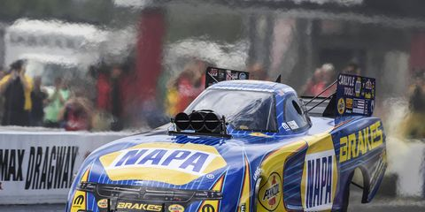 Sights from Sunday's final eliminations at the NHRA Four-Wide Nationals at zMax Dragway