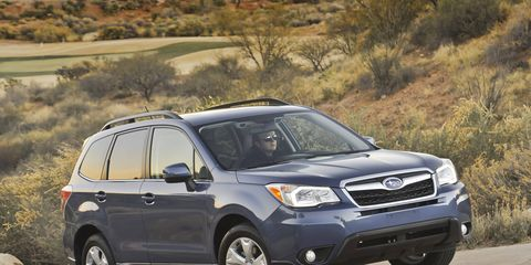 Driving the 2015 Subaru Forester 2.5i Premium is like being in a fishbowl.